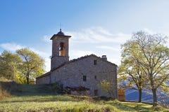 Sant Julia De Freixens Północ Catalonia obraz royalty free