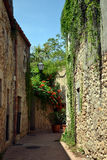 Sant Marti d'Empuries in Costa Brava, Spain Royalty Free Stock Photography