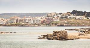 Sant Marti Empuries. Beach, Costa Brava Stock Image