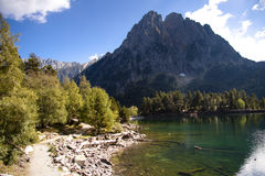 Sant Maurici Lake Stock Images