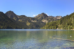 Sant Maurici lake Royalty Free Stock Photography