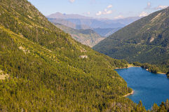 Sant Maurici Lake Royalty Free Stock Photos