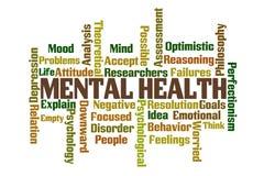 Santé mentale Photo libre de droits