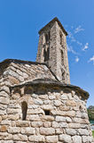 Sant Miquel church at Engolasters, Andorra Stock Photography