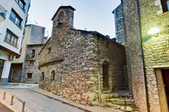 Sant Miquel de la Mosquera at Encamp, Andorra Royalty Free Stock Images