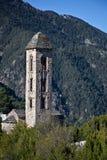 Sant Miquel romanic church, Andorra Stock Image