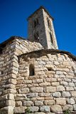 Sant Miquel romanic church, Andorra Royalty Free Stock Images