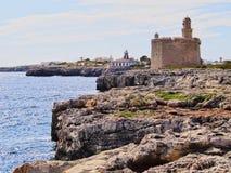 Sant Nicolau Castle in Ciutadella on Minorca Stock Photos