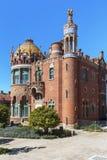 Sant Pau Art Nouveau Site, Barcelona Royaltyfri Fotografi
