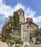 Sant Pau del Camp, Barcelona Royalty Free Stock Photos