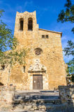 Sant Pere Church i vänner, Spanien Royaltyfri Bild