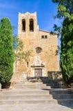 Sant Pere Church i vänner, Spanien Royaltyfria Foton