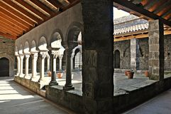 Sant Pere de Casserres Стоковая Фотография RF