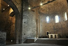 Sant pere de casserres Royalty Free Stock Images