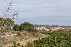 Sant Pere de Ribes, Catalonia, Espanha Fotografia de Stock