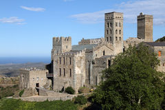 Sant Pere de Rodes Royalty Free Stock Photography