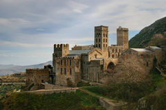 Sant Pere de Rodes Royalty Free Stock Image