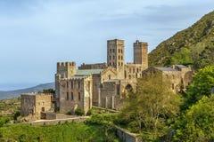 Sant pere De Rodes, Catalonia, Hiszpania zdjęcia royalty free