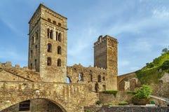 Sant pere De Rodes, Catalonia, Hiszpania fotografia royalty free