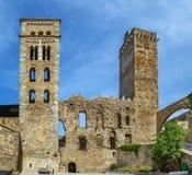 Sant pere De Rodes, Catalonia, Hiszpania zdjęcie stock