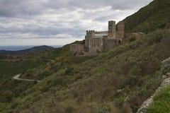 Sant Pere De Rodes Kloster Royaltyfri Bild