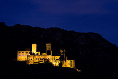Sant Pere de Rodes monastery Stock Images