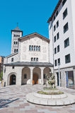 Sant Pere Martir at Escaldes-Engordany, Andorra Stock Image