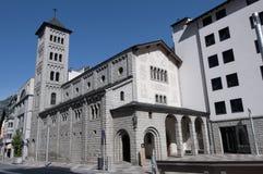 Sant Pere Martir at Escaldes-Engordany, Andorra Royalty Free Stock Image