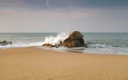 Sant Pol de Mar, Costa Brava, Spain Royalty Free Stock Photo