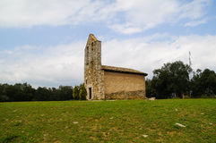 Sant Roc Church Hermitage Royalty Free Stock Photography