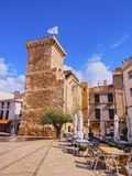 Sant Roc Gate in Mahon on Minorca Royalty Free Stock Photography