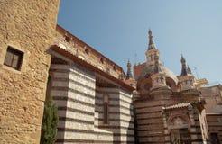 Sant Roma Church, Lloret de Mar, Costa Brava, España Imagen de archivo libre de regalías