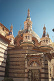 Sant Roma Church, Lloret de Mar, Costa Brava, España Imagen de archivo