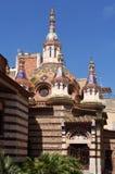 Sant Roma church in Lloret de Mar, Costa Brava,. Girona province,Spain (modernist style stock photo