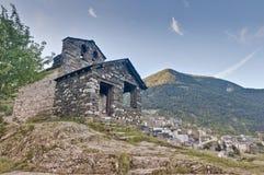 Sant Roma de les Bons at Encamp, Andorra Stock Image