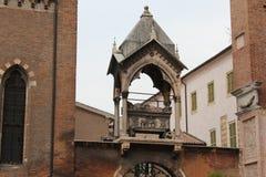 Sant ` s阿纳斯塔西娅,维罗纳,意大利 库存图片