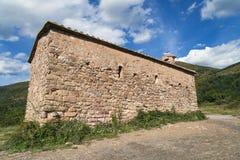 Sant Salvador church in Irgo Stock Photos