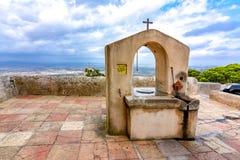 Sant Salvador mountain, Mallorca, Spain royalty free stock photography