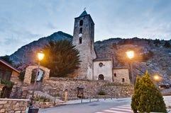 Sant Serni at Canillo, Andorra Royalty Free Stock Photo