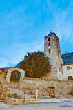 Sant Serni at Canillo, Andorra Stock Image