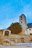 Sant Serni at Canillo, Andorra Stock Image
