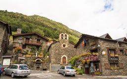 Sant Serni de Llorts, Andorra Foto de archivo libre de regalías