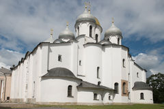Sant Sophia Cathedral in Novgorod, Russia Stock Photos