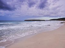 Sant Tomas Beach on Minorca Royalty Free Stock Photography