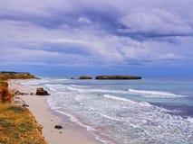 Sant Tomas Beach on Minorca Royalty Free Stock Images