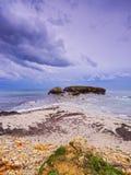 Sant Tomas Beach on Minorca Royalty Free Stock Photo