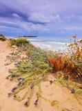 Sant Tomas Beach on Minorca Royalty Free Stock Photos