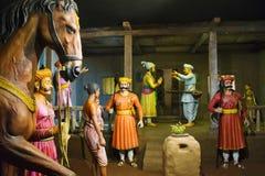 Sant Tukaram και Shivaji Maharaj, ναός Hadshi, μουσείο Sant Darshan κοντά στο tikona Vadgoan Maval, περιοχή Pune, Maharashtra, Ιν στοκ εικόνες με δικαίωμα ελεύθερης χρήσης