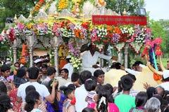 Sant Tukaram palkhi procession, Maharastra, India Stock Image