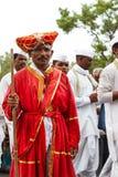 Sant Tukaram Palki, Maharastra culture Stock Image